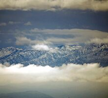 Just Above The Clouds by Carol Barona