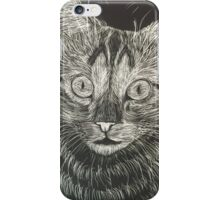 Cat Portrait  iPhone Case/Skin