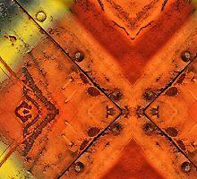 Triangled  by Kim  Calvert