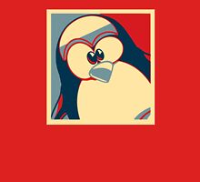 Linux Tux Obama poster red blue  Unisex T-Shirt