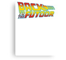 Back to the Futoor Canvas Print