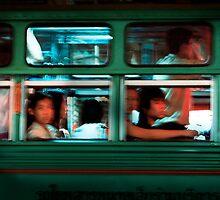 Chinatown Bus Bangkok by Stuart Wilson