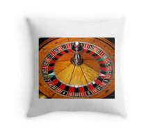 Las Vegas casino Tee Shirt, cards, prints by Tom Conway Art Throw Pillow