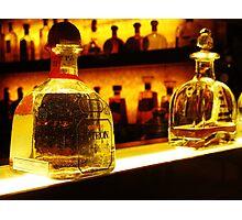 Bottle of Patron Tequila Reposado Photographic Print