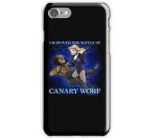 The Battle of Canary Worf iPhone Case/Skin