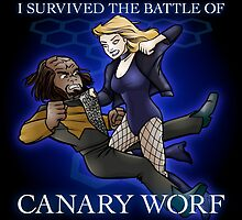 The Battle of Canary Worf by Mike Rieger