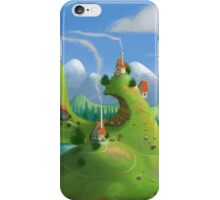 Mountain Village iPhone Case/Skin
