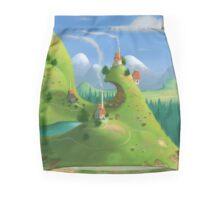 Mountain Village Pencil Skirt