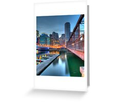 Boston, Fort Point Greeting Card
