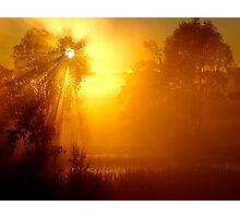 Sacred Sunrise - Queensland Australia Photographic Print