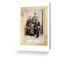 BOB, WILL AND MOLLY PAGE Greeting Card