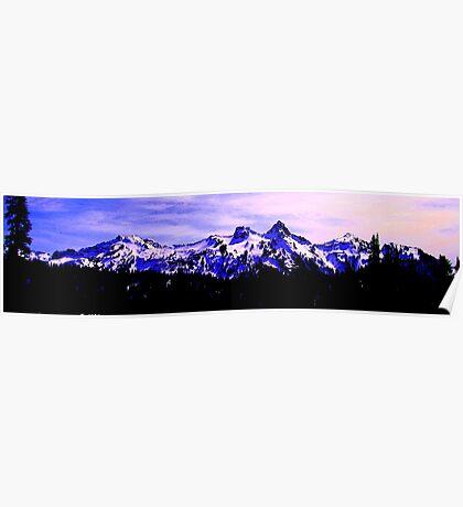 Purple Mountains Majesty Poster