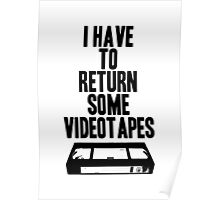Videotapes Poster