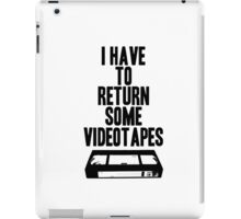 Videotapes iPad Case/Skin