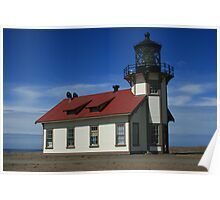 Point Cabrillo Lighthouse - North Coast Poster