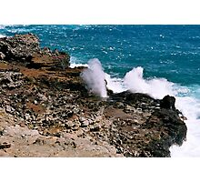 Nakalele Blowhole Photographic Print