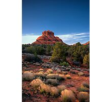 Last Light on Bell Rock Photographic Print