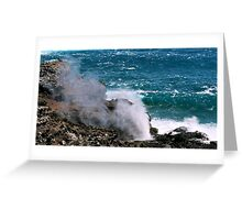 Nakalele Spray Greeting Card