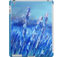 Lavender Field Abstract iPad Case/Skin
