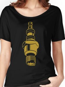 Spark Plug Petrolhead Motorhead design Women's Relaxed Fit T-Shirt