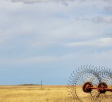 Hay rake - (Farm equipment) Location: Free state, South Africa Sticker