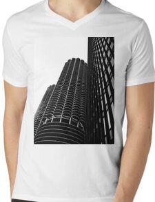 Three Mens V-Neck T-Shirt