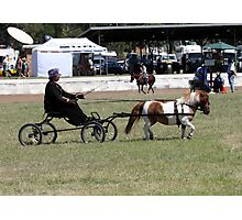 One horse power, turbo charged Photographic Print