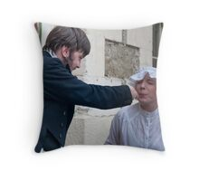 Oamaru Living its History 10 Throw Pillow