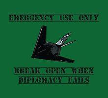 Break open when diplomacy fails! by Tim Constable
