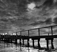 Pier over Troubled Waters by Linda  Appleby