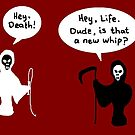 Life and Death Personified by Nebsy