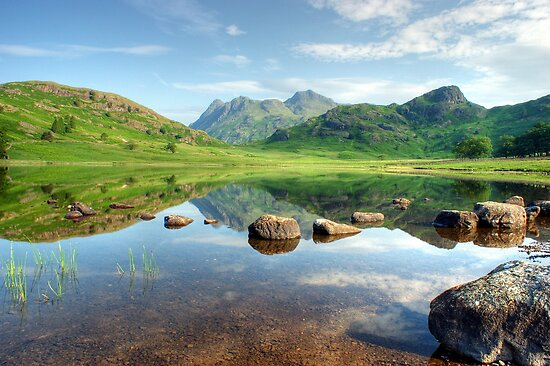 Blea Tarn in July by VoluntaryRanger