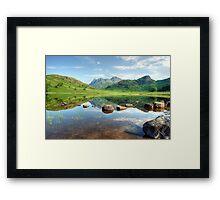 Blea Tarn in July Framed Print