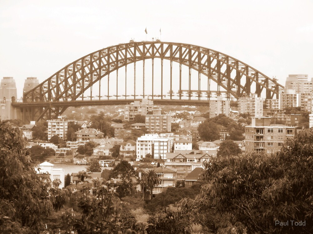 Harbour Bridge View 9 by Paul Todd