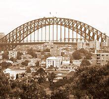 Harbour Bridge View 9 by Paul Todd