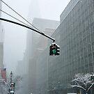 New York 42th Street - Traffic light by Yannick Verkindere