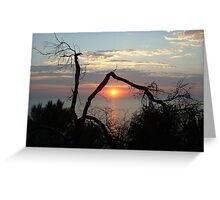 Sandringham Sunset Greeting Card