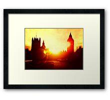 On The Thames  Framed Print