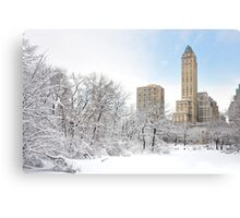 Central Park South  2- New York Canvas Print
