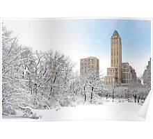 Central Park South  2- New York Poster