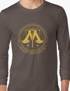 BEAST DIVISION seal - (Harry Potter) Long Sleeve T-Shirt