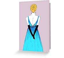 Belle of the Ball Greeting Card