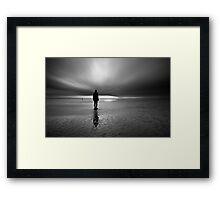 Antony Gormley - Another Place Framed Print