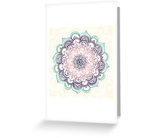 Mermaid Medallion Greeting Card