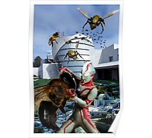Ultraman vs. the killer bees Poster
