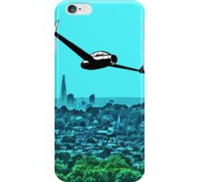 Scooting over the city by #fftw iPhone Case/Skin