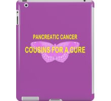 COUSINS FOR A CURE iPad Case/Skin