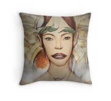 my first fae version2 Throw Pillow