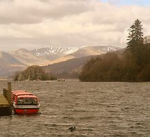 Last mountain snows....(Lake windermere).... by marieangel