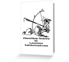 Photoshop Artistry Greeting Card